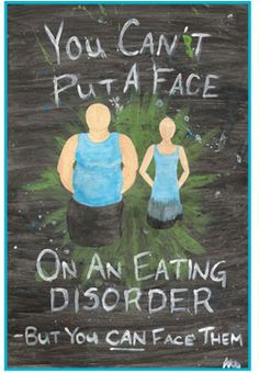 Eating disorders aren't only about Anorexia and Bulimia.