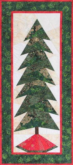 A Little Bit Shorter Tall Tree by Cindi Edgerton for Island Batik.  Designer pattern.