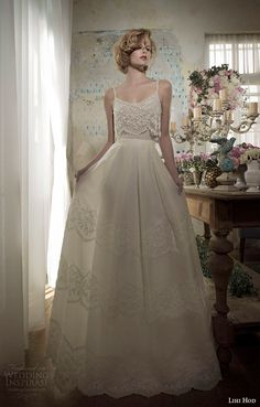 'Day Dreaming' Fem #WeddingDress from Lihi Hod SS 2014 Bridal Collection