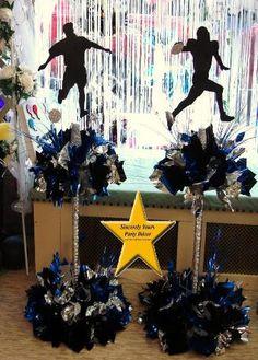 Custom Theme Party Centerpieces Birthday Mitzvah Sweet 16 Shower