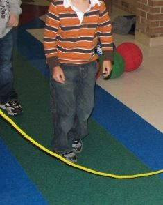 Boys need extra opportunities to develop and practice physical skills which can help them with reading. Jumping rope is an important skill to reading fluency so start them off with a long stationary rope and work up from there.