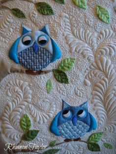 The Nifty Stitcher: Owl Baby Quilt quilt design, babi quilt, owl baby quilts, owl babies, quilt bag