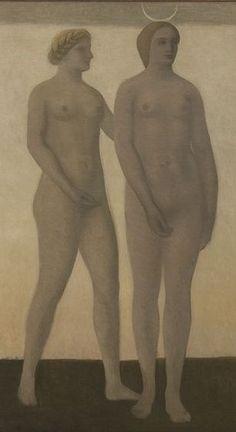 Vilhelm Hammershoi (Danish: 1864-1916) - Artemis(1894) - Detail