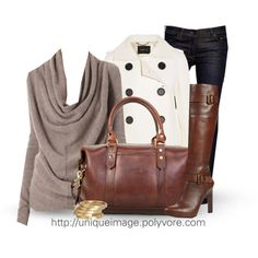"""""""Winter Outfit #7"""" by uniqueimage on Polyvore"""