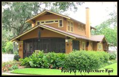 Gorgeous Airplane Bungalow.  Thank you Kenneth Knight, FL Architecture Fan.