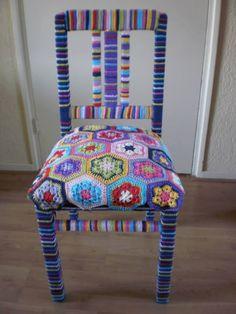 Wonderful chair from fan Marian Hardeman!