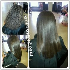 Kenra Smooth done by stylist Miki Whitlock.
