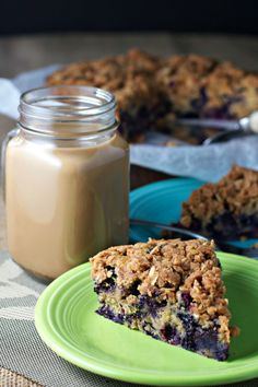 healthy and delicious vegan breakfast idea!  Use fresh blueberries from your local farmers market to make this dish incredible!