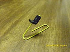 Make a Paperclip Catapult #catapults #STEM