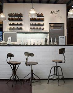 Le Labo in-store #LibertyBeauty #LeLabo