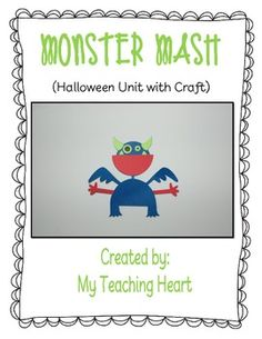 Halloween monster unit.
