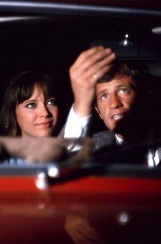 Jean-Paul Belmondo & Anna Karina - Pierrot le fou (JL Godard, 1965)