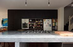 Great simple shelving - Anthony Gill Architects - Surry Hills House