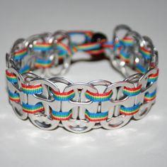 ~Pop top & ribbon bracelet~