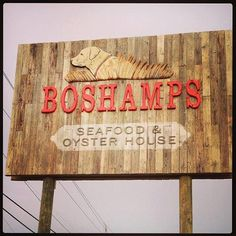 BOSHAMPS ~ New Restaurant people in Destin LOVE!!! <3