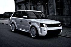 Classy white range.