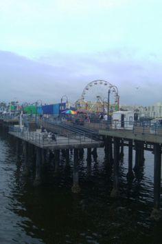 Pacific Ocean Park [P.O.P.] pier, Santa Monica, California