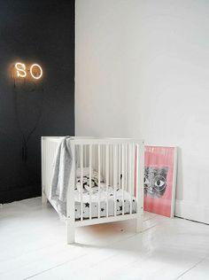 minimalistische babykamer