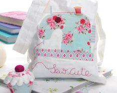 DIY sewing bag, needle book, pincushion