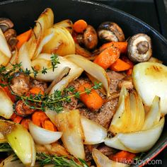 Family Favorite Pot Roast, with tips on making a tender and flavorful roast every time