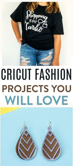 With these Cricut Fashion Projects, you can  make over your wardrobe with DIY customized pieces you can make yourself. Show  your personality with some great craft projects! #cricut  #diy #crafts #projects #diycrafts #diyprojects  #diyideas #diecutting #diecuttingmachine #cutfiles #svgfiles #diecutfiles  #diycricutprojects #cricutprojects #cricutideas