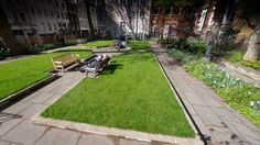 St James Garden. Summer outdoor Venue Hire through 195 Piccadilly, London