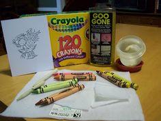 Dorcas Designs: Crayon Tutorial Part 1