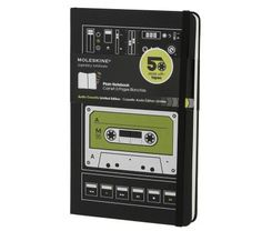 Audio Cassette Notebook - Plain - Large - by Moleskine