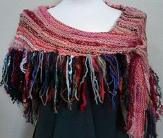 Memories Shawlette  https://www.etsy.com/listing/152872267/versatile-hand-knit-memories-shawlette?ref=v1_other_2