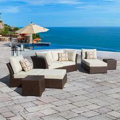 Mercer 8-Piece Outdoor Furniture Set by Sirio