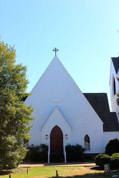 St. Mary's Episcopal Church in Goochland, Virginia via The Gracious Posse