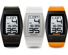 Sport Watch Brings E-Ink and Touch Screen Tech to Your Wrist