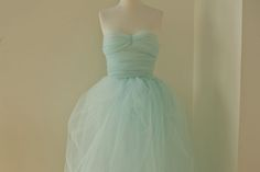 Make it yourself: tulle dress