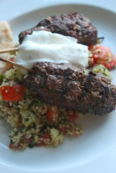 Kofte Kebabs http://careyonlovely.blogspot.com/2012/09/kofte-kebabs ...