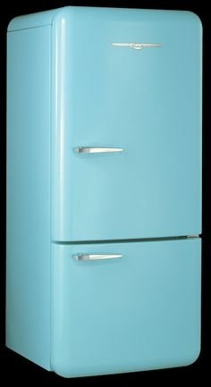 Old fashioned refrigerator