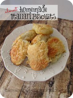 So easy and addicting almost homemade garlic cheese biscuits!