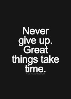never give up on pinterest motivational quotes
