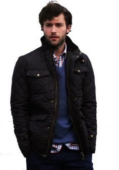 Introducing the new Vedoneire Mens Quilted Jacket (classic fit). £59.99    An essential wardrobe style-staple, suitable for all seasons and enjoyed by city-slickers and country-philes alike.        #Vedoneire #MensFashion #QuiltedJacket