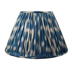 silk ikat lampshade by susan delis - available from www.englishabode.com
