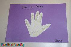 Sunday School Crafts: Prayer