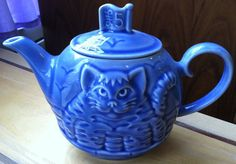 Wade 'Owl and Pussycat' Teapot by littleredchairconsig on Etsy,