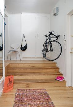 Charming Swedish Apartment Exhibiting an Original Floor Plan