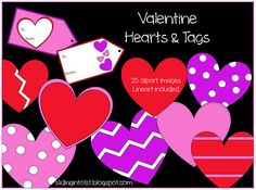 valentines day, heart, clipart