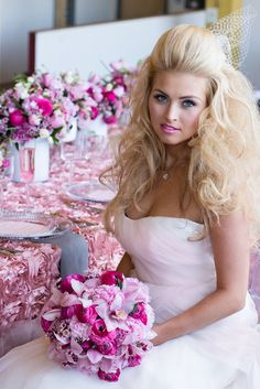 Cleveland wedding planner -  Decor concept & styling by Shi Shi Events, floral design by @HeatherLily Inc. featured in our Urban Candy inspiration shoot as seen on @Style Unveiled http://styleunveiled.com/wedding-blog/urban-candy-wedding-inspiration-using-shades-of-pink.html