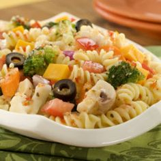 Rotelle Pasta Or Spiral Pasta Recipes on Pinterest