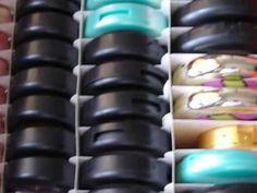 For Libby's Makeup! Organizing Compacts - YouTube