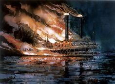 Captain J. Walter Elliott, Wabash College Class of 1858, survived the Confederate prison camp at Andersonville only to witness the worst maritime disaster in U.S. history aboard the S.S. Sultana.
