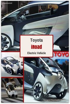 Toyota iRoad EV (electric vehicle) can help ease congestion in large cities. I saw the concept car at CES in January and Toyota is now testing the vehicle in Toyota City in Japan and in France by the end of the year. #Spon #iRoad