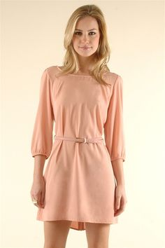 Devon Dress - Peach