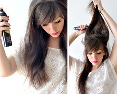 A bunch of tutorials on how to add volume to your hair! need to do this